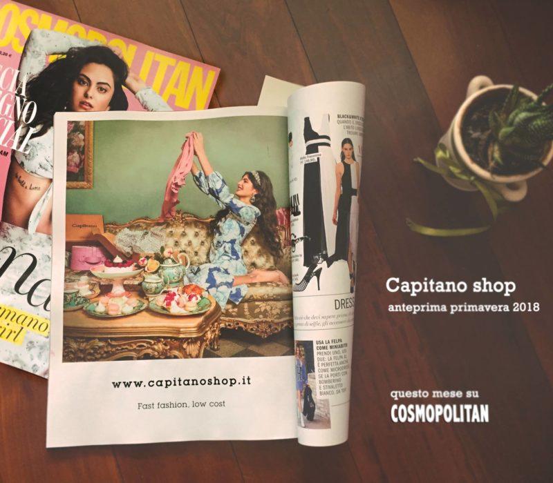 La nostra modella per Capitano shop su Cosmopolitan Italia