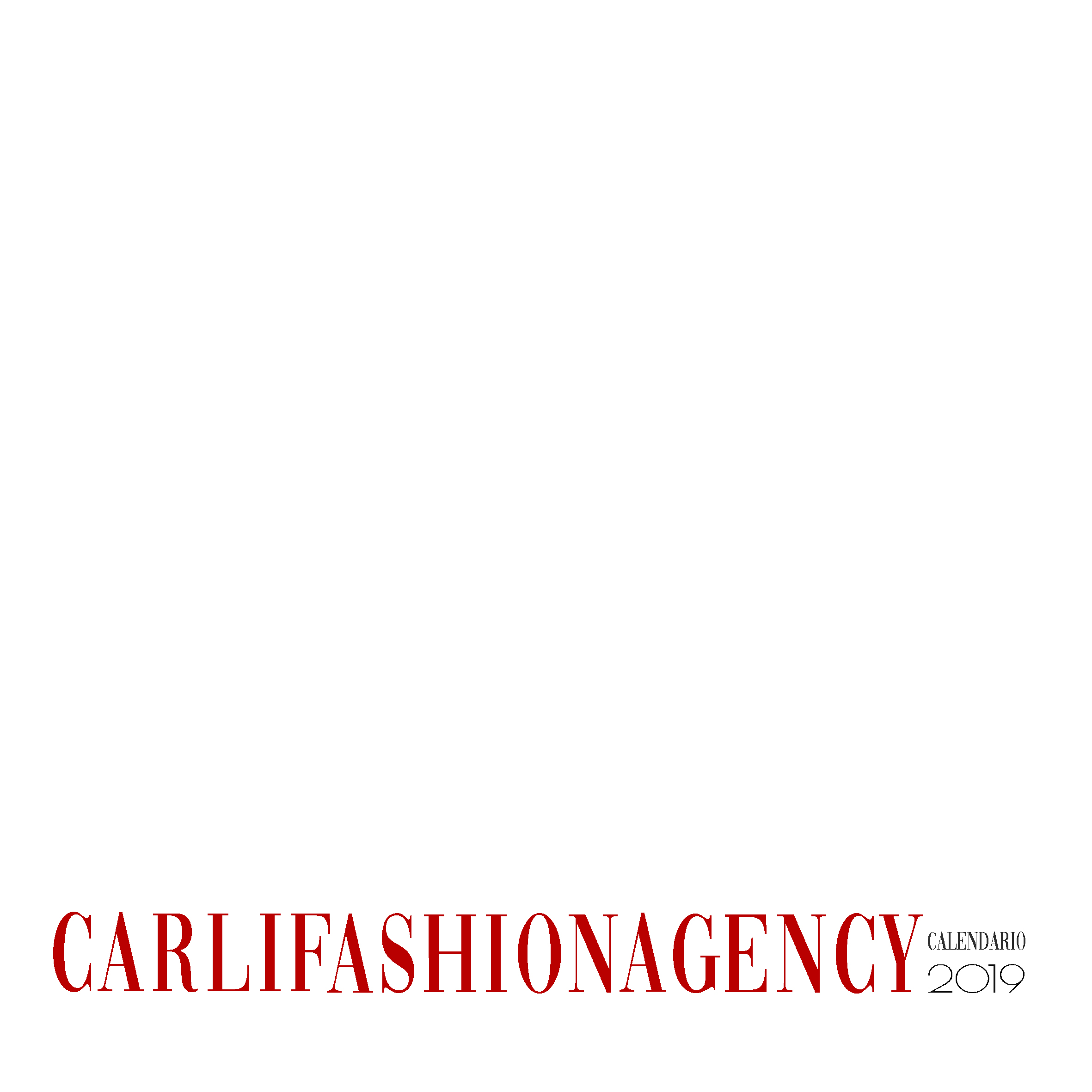 Calendario 2019 Carlifashion